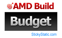 list of parts for amd budget computer build