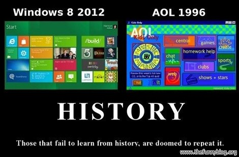 windows 8 history aol