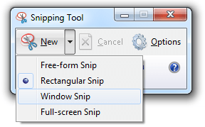 print screen snipping tool