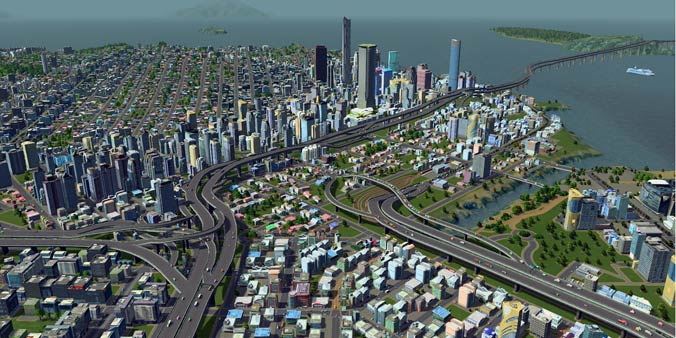 sim city like game