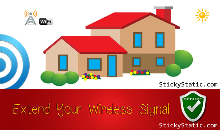 How To Extend Your Wireless Range / Boost Neighbors WiFi Signal